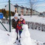 Zimowe rzeźby ze śniegu 1b