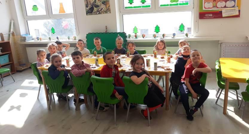 Wielkanocne śniadanko w oddziałach przedszkolnych