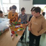 klasa 2c - budowanie zamku