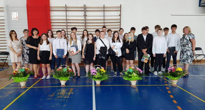 Zakończenie roku szkolnego 2020/2021 – pożegnanie klas ósmych
