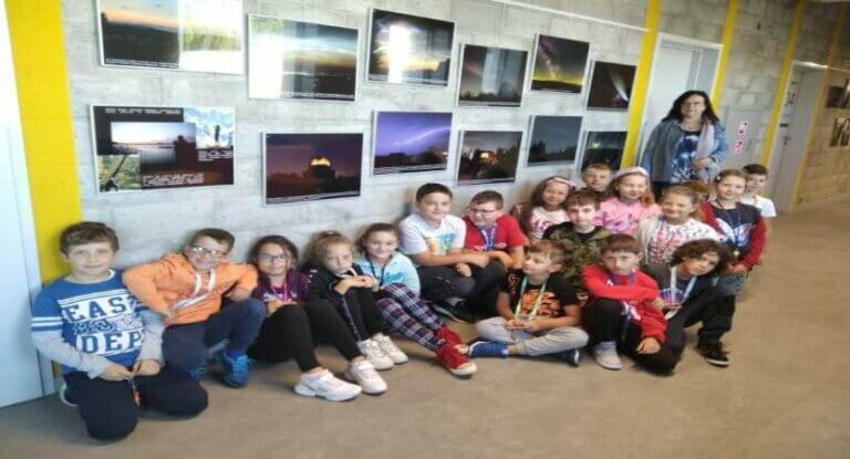 Klasa 3c w Obserwatorium