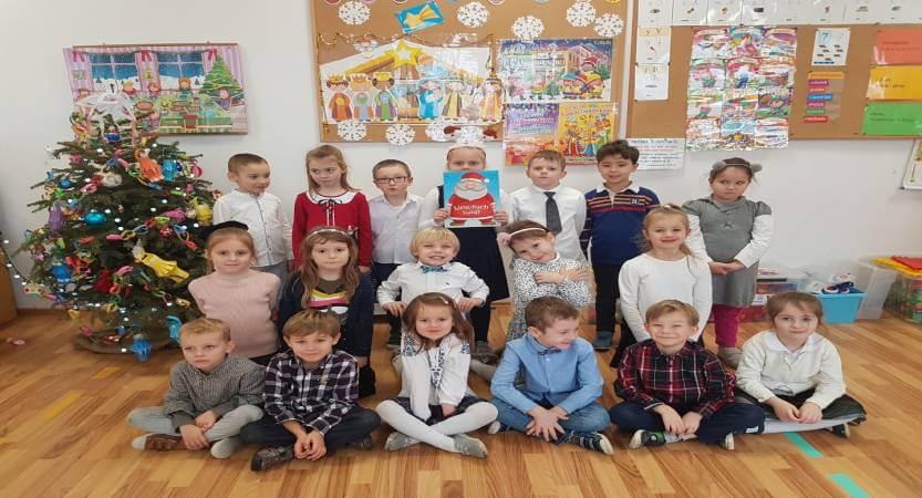 Wigilia u Przedszkolaków