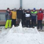 3c buduje śnieżne zamki