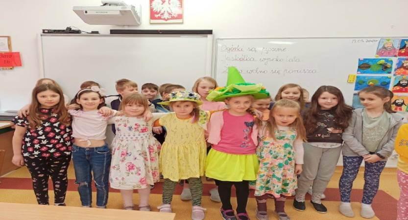 Najbardziej wiosenne klasy w naszej szkole