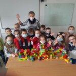 ZAMEK - praca dzieci z oddziału przedszkolnego 0b
