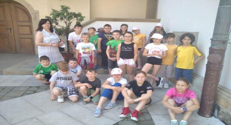 Klasa 2 c z wizytą na Zamku